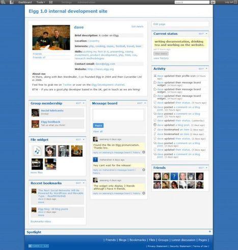 Elgg : Votre réseau social open source qui se gère comme un CMS. | Web 2.0 | Veille Université numérique et pédagogie innovante | Scoop.it