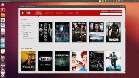 La prise en charge native pour Netflix arrive sur Ubuntu - Le blog des nouvelles technologies | UBUNTU | Scoop.it