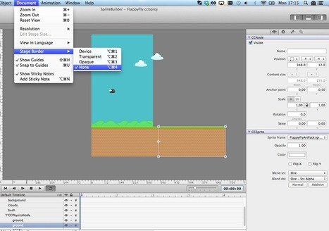 Build your own Flappy Bird with SpriteBuilder and Cocos2d 3.0 | iPhone and iPad development | Scoop.it