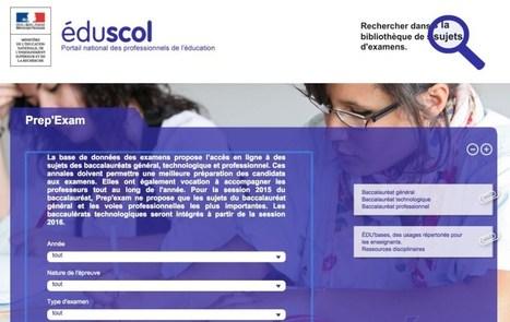 Les annales du bac disponibles gratuitement en ligne | Culture informationnelle et CDI | Scoop.it