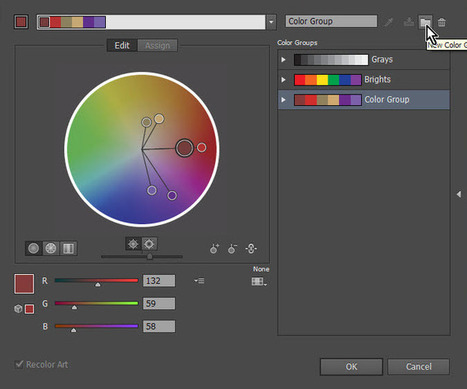 Creating Color Swatches in Illustrator Photoshop InDesign | Veysoft | Create Save and Load Color Swatches in Adobe tools | Scoop.it
