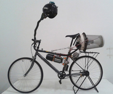 More Next-Level IKEA Hacking: Matt Hope's Air-Filtering Beijing Bicycle - Core77 | Space, place and time | Scoop.it
