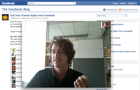 Facebook Launches Skype Video Calls, Group Messaging, Hits 750 Million Users [Video] | Fast Company | The Google+ Project | Scoop.it