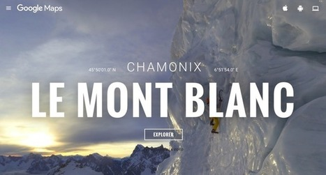 L'ascension du Mont Blanc en 360° avec Google | Presse-Citron | Rapid eLearning | Scoop.it