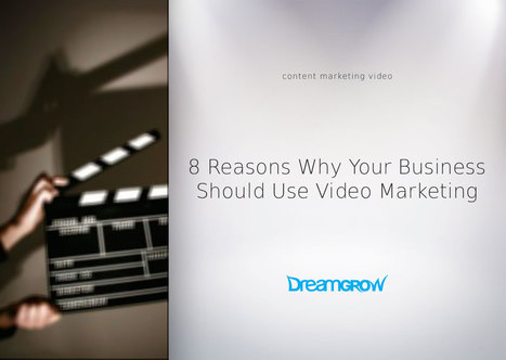 8 Reasons Why Your Business Should Use Video #Marketing  | AtDotCom Social media | Scoop.it