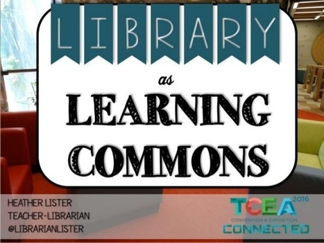 Library as Learning Commons | Library Spaces: Creating a Learning Commons | School Library Learning Commons | Scoop.it