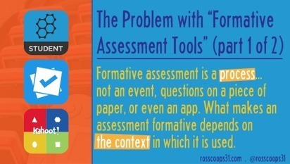"The Problem with ""Formative Assessment Tools"" (part 1 of 2) 