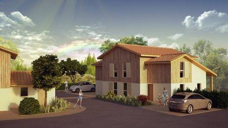 Nouveau programme immobilier neuf LES VILLAS MARENSINES à Capbreton - 40130   L'immobilier neuf du Sud des Landes   Scoop.it