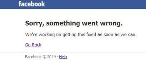 فيسبوك يتعرض لتوقف تام عن العمل لعدة دقائق   4tecme   Scoop.it