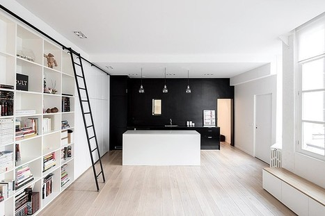 Kabinett Apartment - Conversion of a Former Manufacturing Workshop in Paris | Architecture and Interior Design | Scoop.it