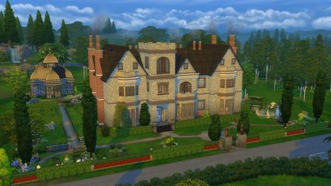 Knightwood Manor << L'Hermitage de Mathoo | Les Sims | Scoop.it