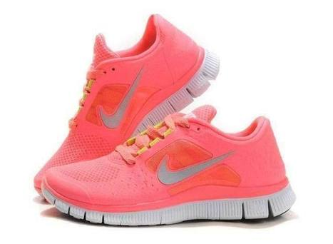 Clearance Barefoot Shoe, Nike Free Run 3 Womens Neon Pink [TYGV124-301] | Running Everyday, Wearing Nike | Scoop.it