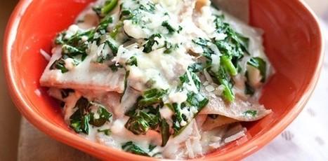 Lasagne maltagliate con baby spinaci e crema di feta   Alimentazione Naturale, EcoRicette Veg e Vegan   Scoop.it