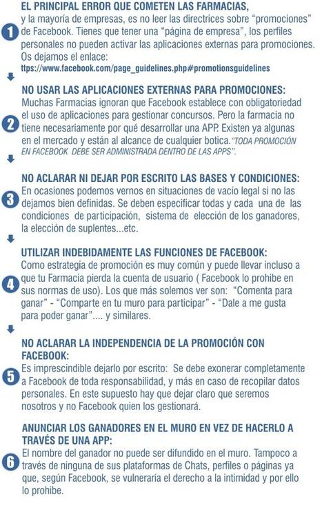 La farmacia en Facebook: claves para organizar una promoción | Redes Sociales | Scoop.it