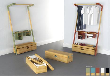 Arara Nômade - Clothes Storage Structure by André Pedrini & Ricardo Freisleben | Déco Design | Scoop.it