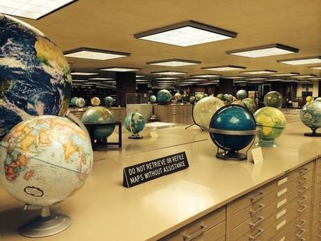 Inside The Most Amazing Map Library That You've Never Heard Of | For the Love of Reading | Scoop.it
