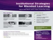 Institutional Strategies for Blended Learning | thisconference.com | Blended, hybrid and online learning | Scoop.it
