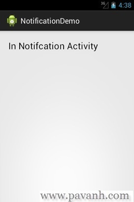 Android Notification Example With NotificationCompat | Java Android and web development tutorial | TutorialsBuzz , Programming Blog for android ,java | Scoop.it