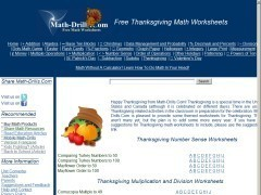 Thanksgiving Themed Math Activities | ClickSchooling | Hands on Math | Scoop.it