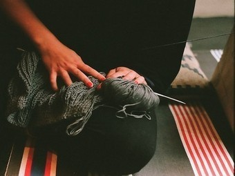 """""""Why bother knitting a scarf?"""" : TreeHugger   Handmade   Scoop.it"""