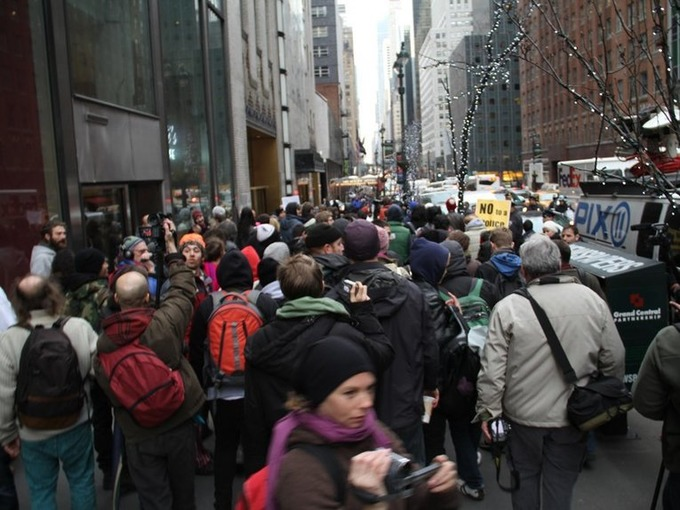 A transgender Occupy protester may sue New York City for discrimination - Business Insider | real utopias | Scoop.it
