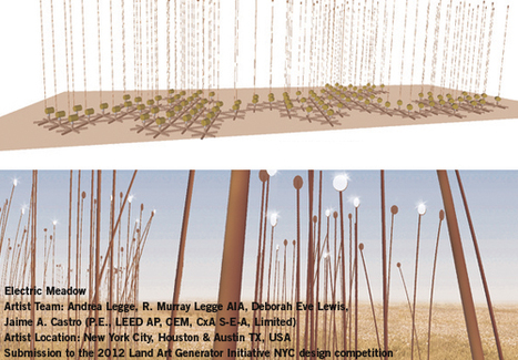 Electric Meadow - Land Art Generator Initiative | DESARTSONNANTS - CRÉATION SONORE ET ENVIRONNEMENT - ENVIRONMENTAL SOUND ART - PAYSAGES ET ECOLOGIE SONORE | Scoop.it
