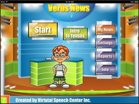 Verbs News App | Speech and Language Therapy Apps | Scoop.it