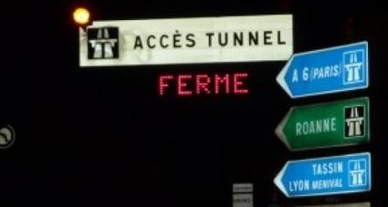 Des travaux nocturnes cette semaine sous le tunnel de Fourvière | La vie à Lyon | Scoop.it