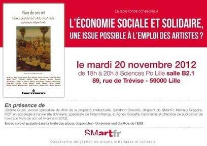 L'économie sociale et solidaire, une issue possible à l'emploi des artistes ? | culture info | Economie soc. et solidaire | Scoop.it