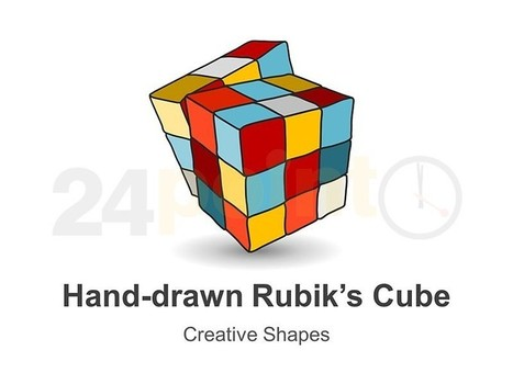 Rubik's Cube - Hand-drawn PowerPoint Shapes | PowerPoint Presentation Tools and Resources | Scoop.it