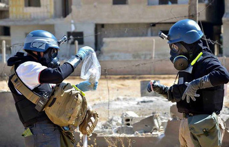 Chemical Disarmament Hard Even in Peacetime | Geo400 | Scoop.it