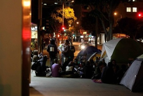LA Activist: Harsh Skid Row policies driven by business lobby, say advocates | l.a. activist | Human Canvasser for Profit | Scoop.it