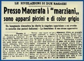The 1954 Macerata Encounter - when Martians landed in Le Marche | Le Marche another Italy | Scoop.it