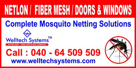 Mosquito mesh Windows and Doors - Hyderabad | Mosquito Screens Hyderabad | Scoop.it