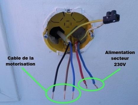 Installer un module fgr221 z wave sa m - Comment installer des volets roulants electriques ...