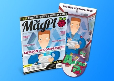 Raspberry Pi MagPi Astro Pi Special Magazine Now Available - Geeky Gadgets | Raspberry Pi | Scoop.it