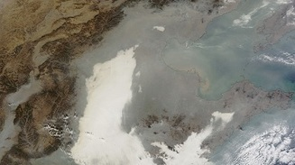 Air pollution stretches from Beijing to Shanghai, as seen from space | Plugged In, Scientific American Blog Network | China Pollution Awareness Network | Scoop.it