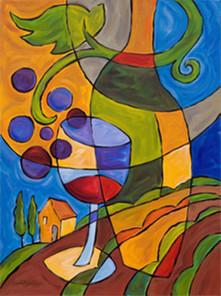 Συγκρίνοντας το κρασί και την τέχνη | omnia mea mecum fero | Scoop.it
