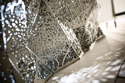 WWA Architects. Interiors for Polish Pavilion EXPO 2010 | parametric design | Scoop.it