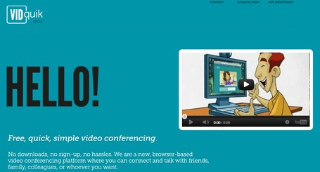 VIDquik - simple video conferencing | Källkritk | Scoop.it