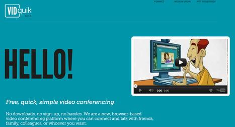 VIDquik - simple video conferencing | IKT och iPad i undervisningen | Scoop.it