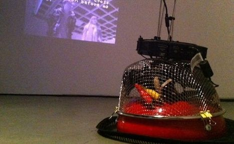 KulturBOT: Robot built from Roomba vacuum cleaner tweets about art - DamnGeeky | art contemporain et culture | Scoop.it
