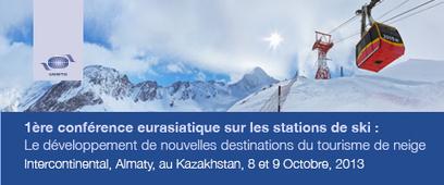 L'OMT organise la 1ère conférence eurasiatique sur les stations de ski les 8 et 9 Octobre 2013 à Almaty (Kazakhstan) | World tourism | Scoop.it
