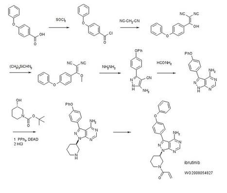 IBRUTINIB 依鲁替尼  A Btk protein inhibitor.   Chemistry   Scoop.it