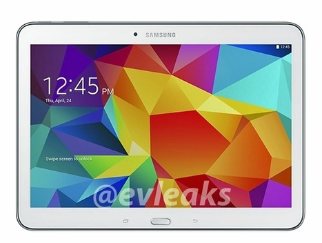Samsung Galaxy Tab 4 10.1 leak shows the upcoming tablet in black and white | WebSpydr | WebSpydr | Scoop.it