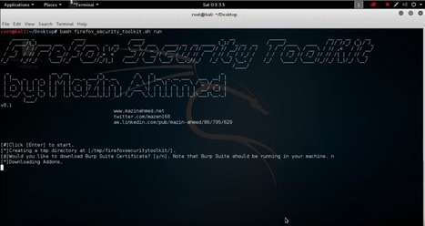 Firefox Security Toolkit - A tool that transforms Firefox browsers into a penetration testing suite - Pir8g33k | Pir8g33k | Scoop.it
