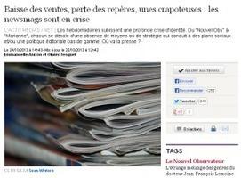 Les news magazines en crise   Médiathèque SciencesCom   Scoop.it