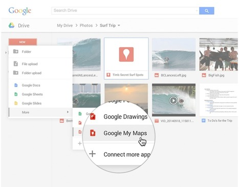 New: You Can Now Create Maps in Google Drive ~ Educational Technology and Mobile Learning | Education Technology - theory & practice | Scoop.it