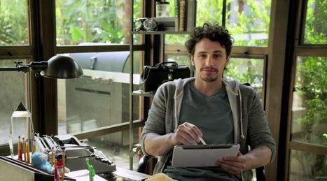 L'acteur multitâches James Franco joue et réalise la pub du Samsung Galaxy Note 10.1 | Tendances publicitaires et marketing | Scoop.it