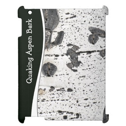Quaking Aspen Bark Close Up Photograph Case For The iPad | Z Photography | Scoop.it